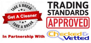 Take a Break Domestic Cleaning Trading Standards Approved
